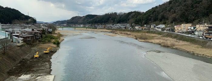 近鉄吉野線 吉野川橋梁 is one of Lieux qui ont plu à 高井.