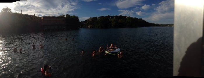 Lake Austin is one of Austin's Rockin' Fitness Scene.