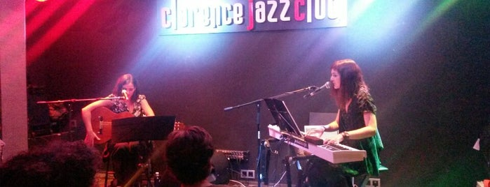 The Clarence Jazz Club is one of Málaga.
