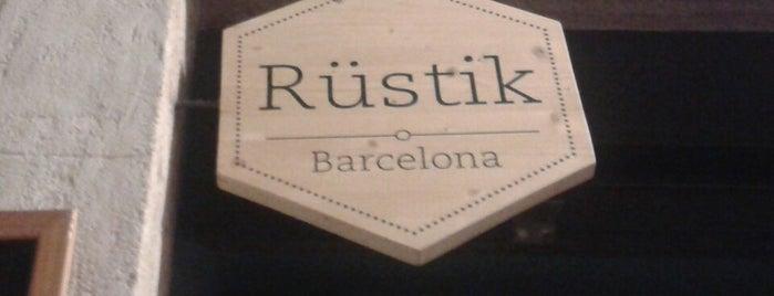 Rüstik is one of Baldesca'nın Kaydettiği Mekanlar.