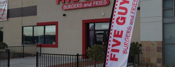 Five Guys is one of CHEYENNE.