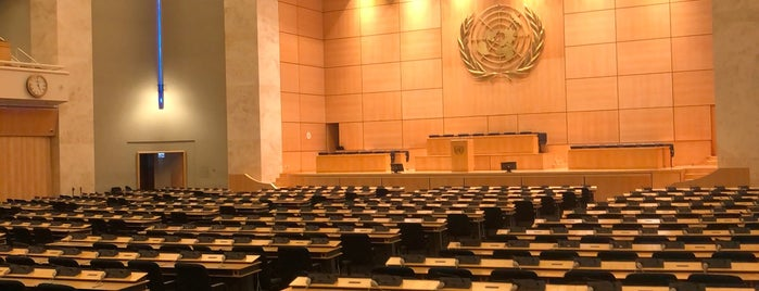 Salle des Assemblées is one of United Nations Geneva.