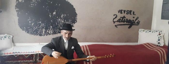 Aşık Veysel Müzesi is one of Türkiye'de Bulunan 25 Edebiyat Müzesi.