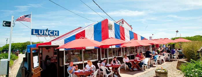 The Lobster Roll Restaurant is one of Out East.