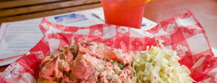 The Lobster Roll Restaurant is one of Ultimate Summertime Lobster Rolls.