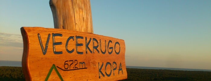 Vecekrugo Kopa is one of Baltic Road Trip.