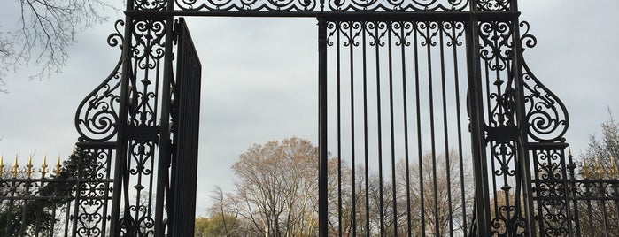Conservatory Garden is one of The New Yorkers: Extracurriculars.