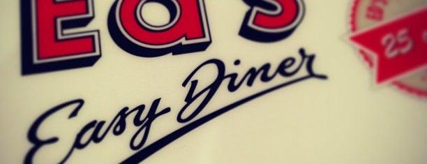 Ed's Diner is one of Locais curtidos por Leonard.