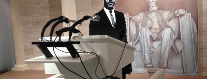 Dr Martin Luther King Jr National Historic Site is one of USA.