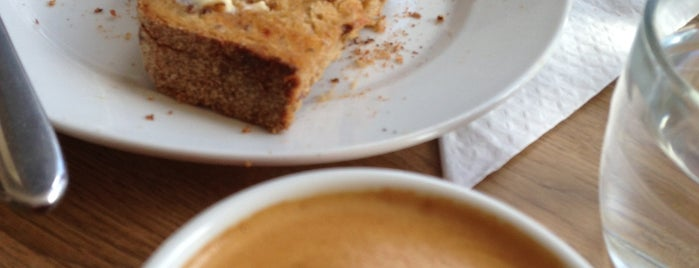 With Jam and Bread is one of Great Independent Coffee Shops in London.