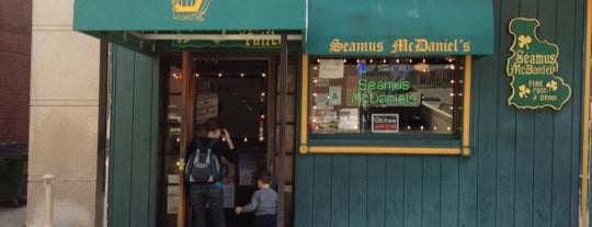 Seamus McDaniel's is one of Restaurants/Eateries I Recommend.