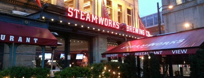 Steamworks Brewing Company is one of Vancouver.