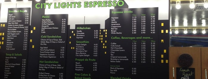 City Lights Espresso is one of Foodz.