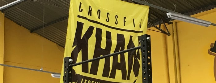 Crossfit Khan is one of Orte, die Mateus gefallen.