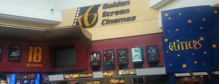 Golden Screen Cinemas (GSC) is one of Posti che sono piaciuti a Patrick.