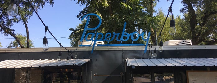 Paperboy is one of Food Trucks.