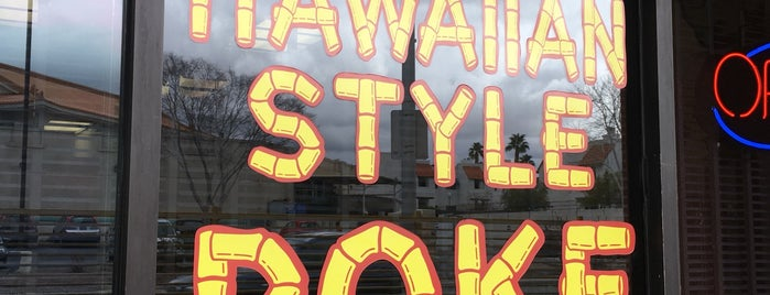 Hawaiian Style Poke is one of LV.