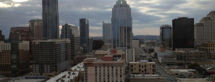 Hilton is one of Austin.