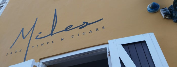 Miles Jazz Vinyl & Cigars is one of Tempat yang Disukai SV.