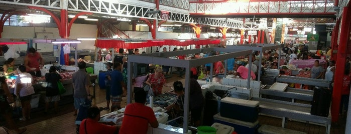 Marché de Papeete is one of SVさんのお気に入りスポット.