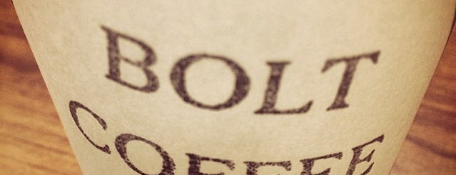 Bolt Coffee Company is one of Our Dumb Wedding.