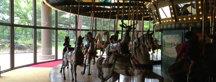 St. Louis Carousel at Faust County Park is one of Summer Bucket List.