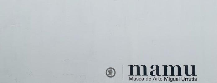 Museo De Arte Miguel Urrutia - Mamu is one of Bogotá.