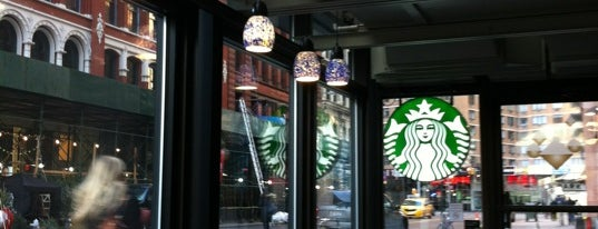 Starbucks is one of New York.