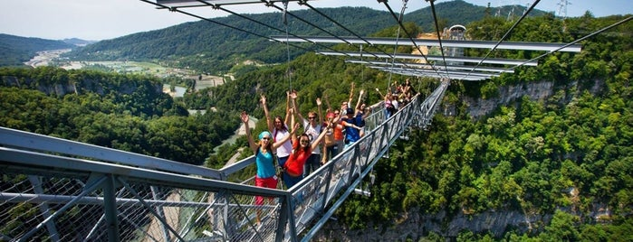 Sky Bridge is one of Сочи.