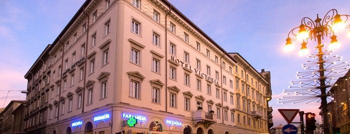 HOTEL VICTORIA TRIESTE is one of Orte, die Tamas gefallen.