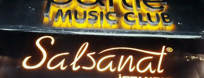 Salsanat Partie Music Club is one of Visited.