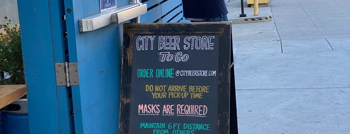 City Beer Store is one of SF.