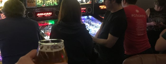 Coin-Op Game Room is one of Kristen's SF.