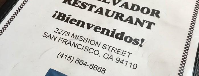 El Salvador Restaurant is one of Tempat yang Disukai Dan.