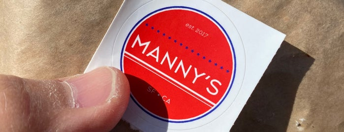 Manny's is one of San Francisco 2.