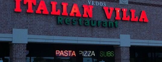 Italian Villa is one of Dallas Restaurants List#2.