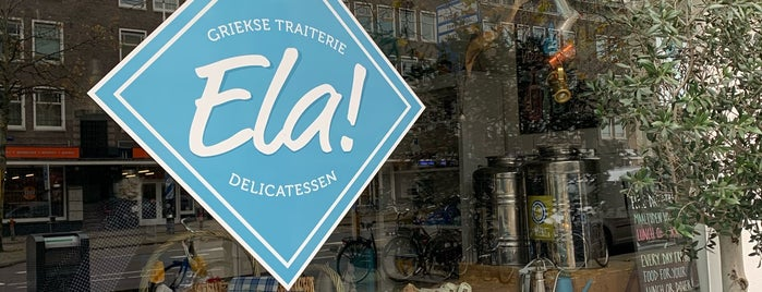 Griekse Traiterie Ela! is one of Orte, die Julia gefallen.