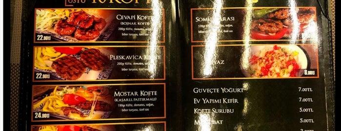 Altı Üstü Kırk Köfte is one of İSTANBUL GURME MEKANLAR.