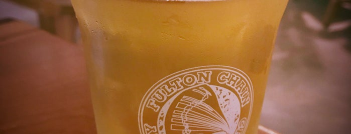 fulton chain craft brewery is one of Tempat yang Disukai Christopher.