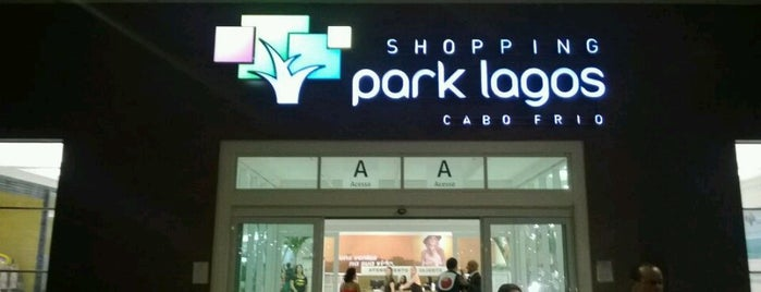 Shopping Park Lagos is one of Cabo Frio RJ.