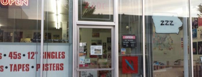 ZZZ Records is one of สถานที่ที่ Brian ถูกใจ.