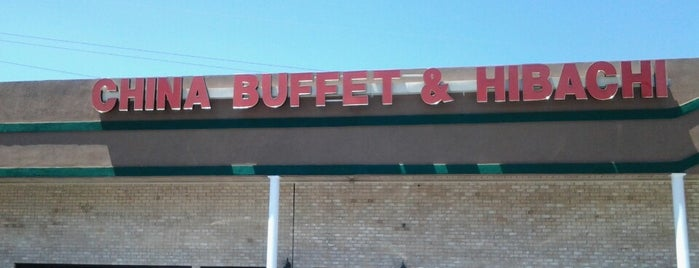 China Buffet & Hibachi is one of Orte, die Shannon gefallen.