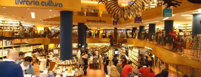 Livraria Cultura is one of M. 님이 좋아한 장소.