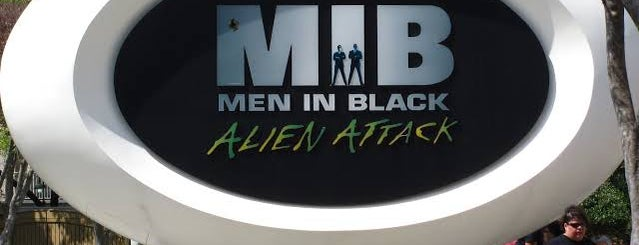 MEN IN BLACK: Alien Attack is one of Locais curtidos por M..