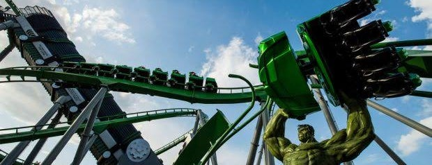 The Incredible Hulk Coaster is one of Locais curtidos por M..