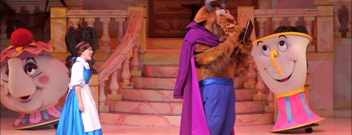 Beauty and the Beast - Live on Stage is one of Orte, die M. gefallen.