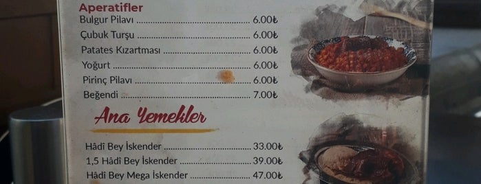 Hadi Baba Kukla Kebap is one of Restoranlar.