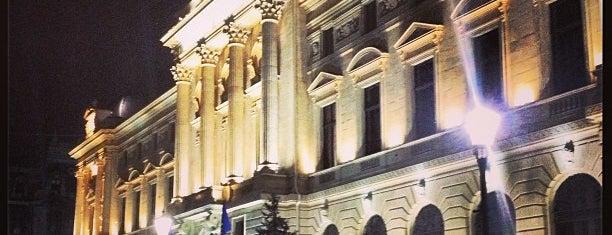 Banca Națională a României is one of Lieux qui ont plu à Elena.