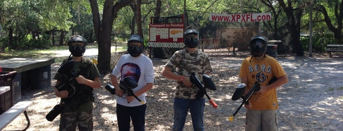 XPX Paintball is one of Florida places.