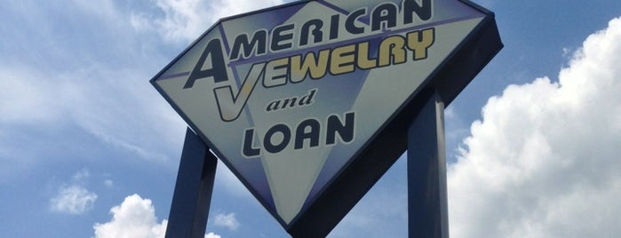 American Jewelry & Loan - Detroit is one of Locais curtidos por John.